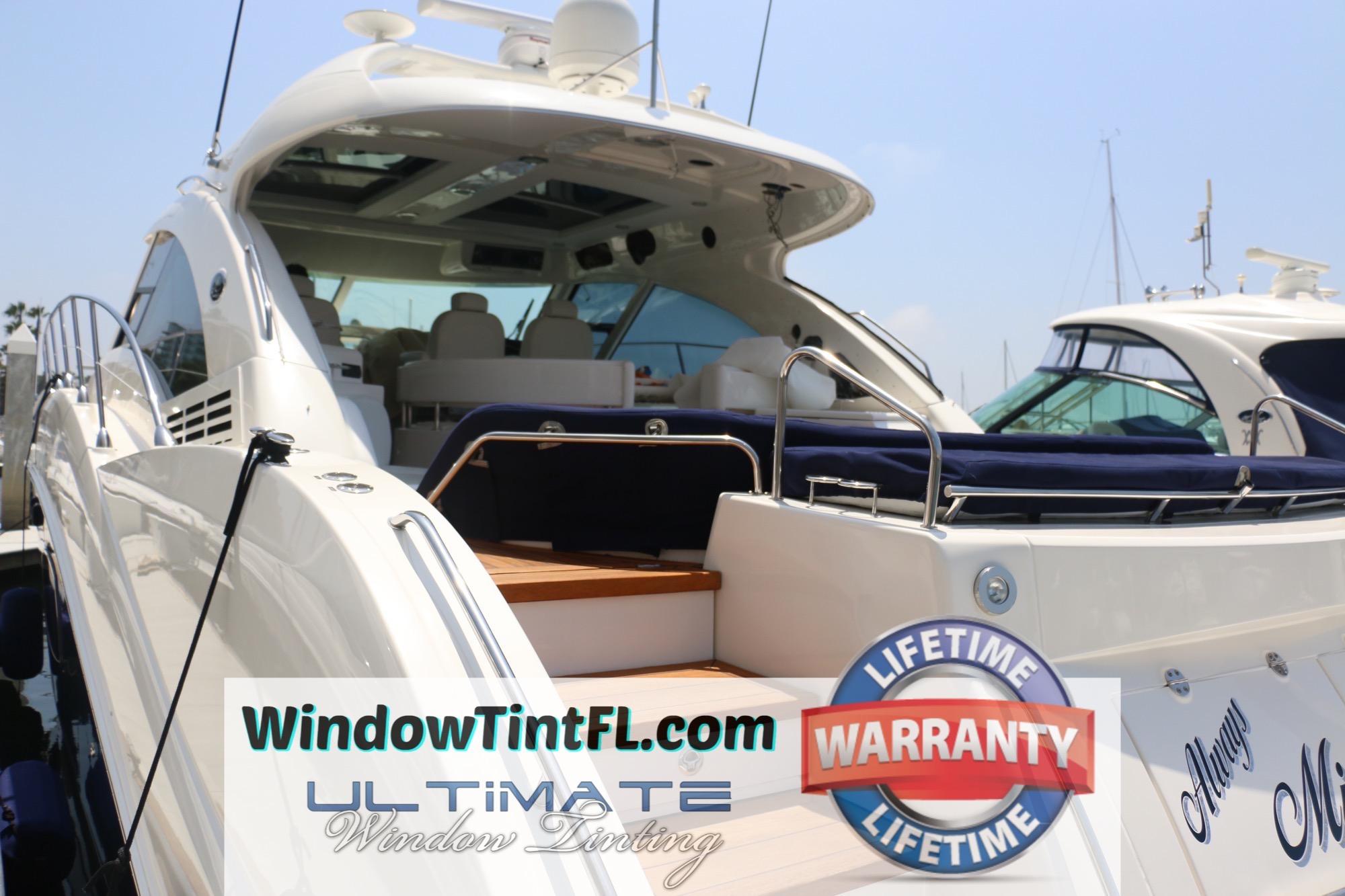 Boat Window Tint Sarasota Florida