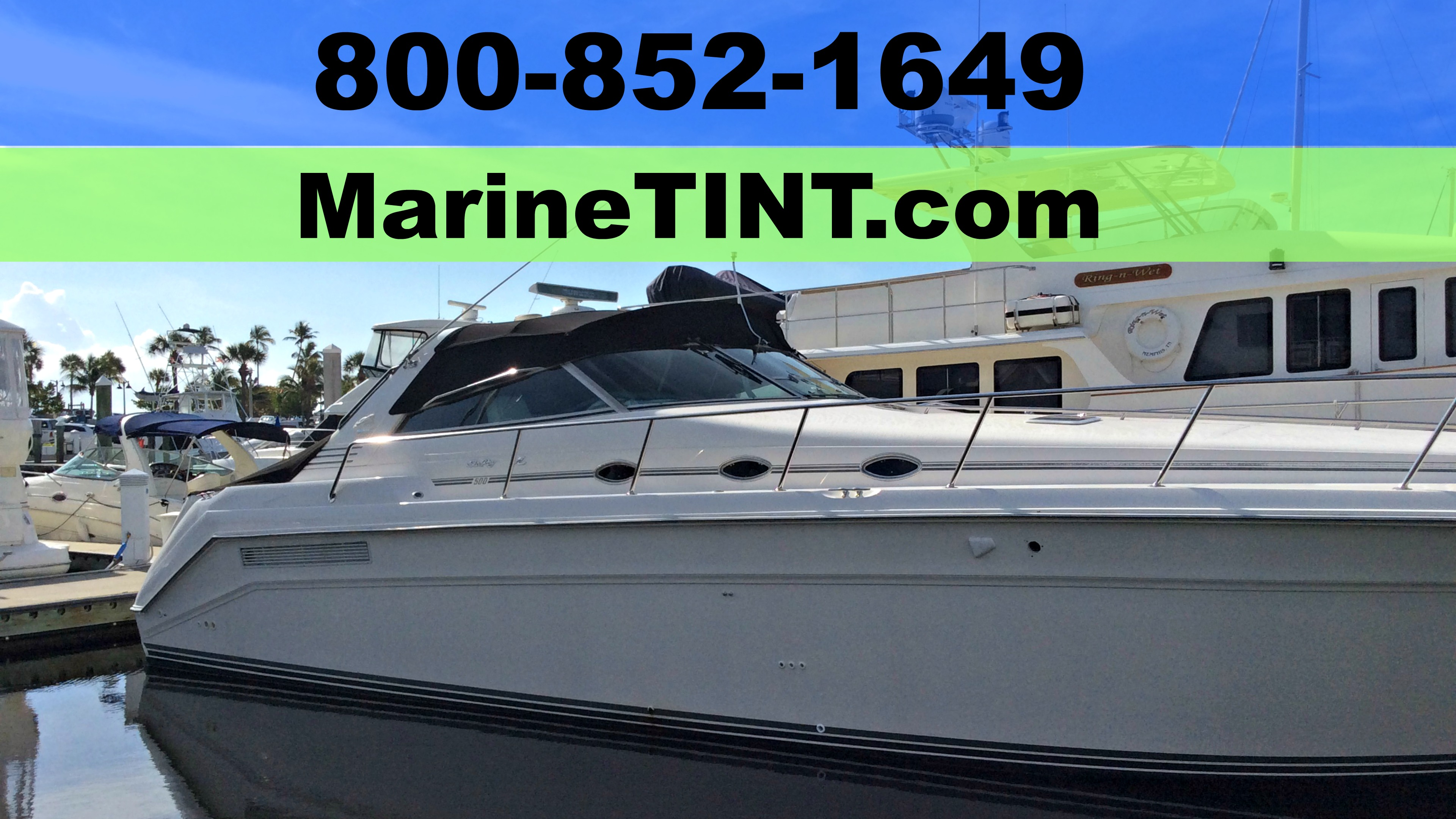Boat Window Tinting Fort Lauderdale