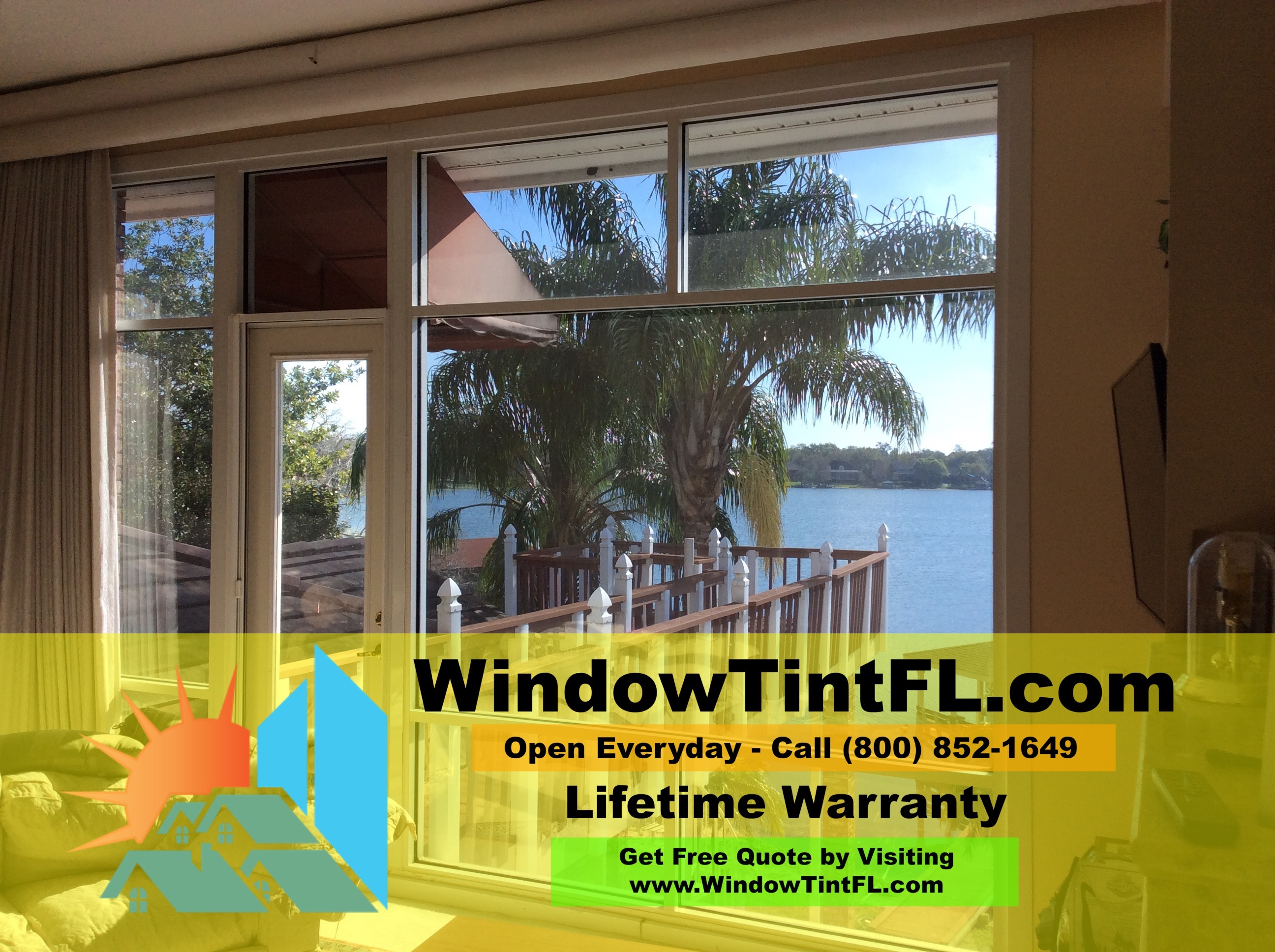 Heat Control Window Film Winter Springs Florida
