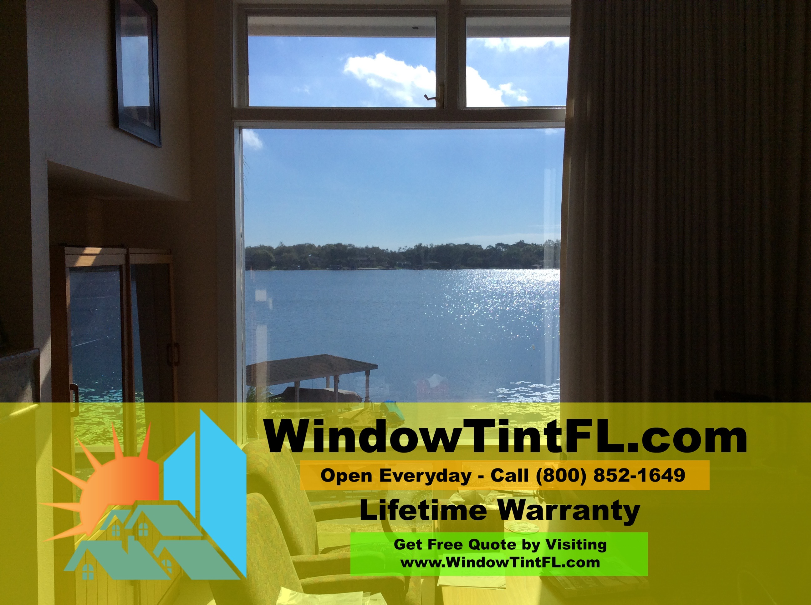 Home Window Tinting in Winter Springs Florida