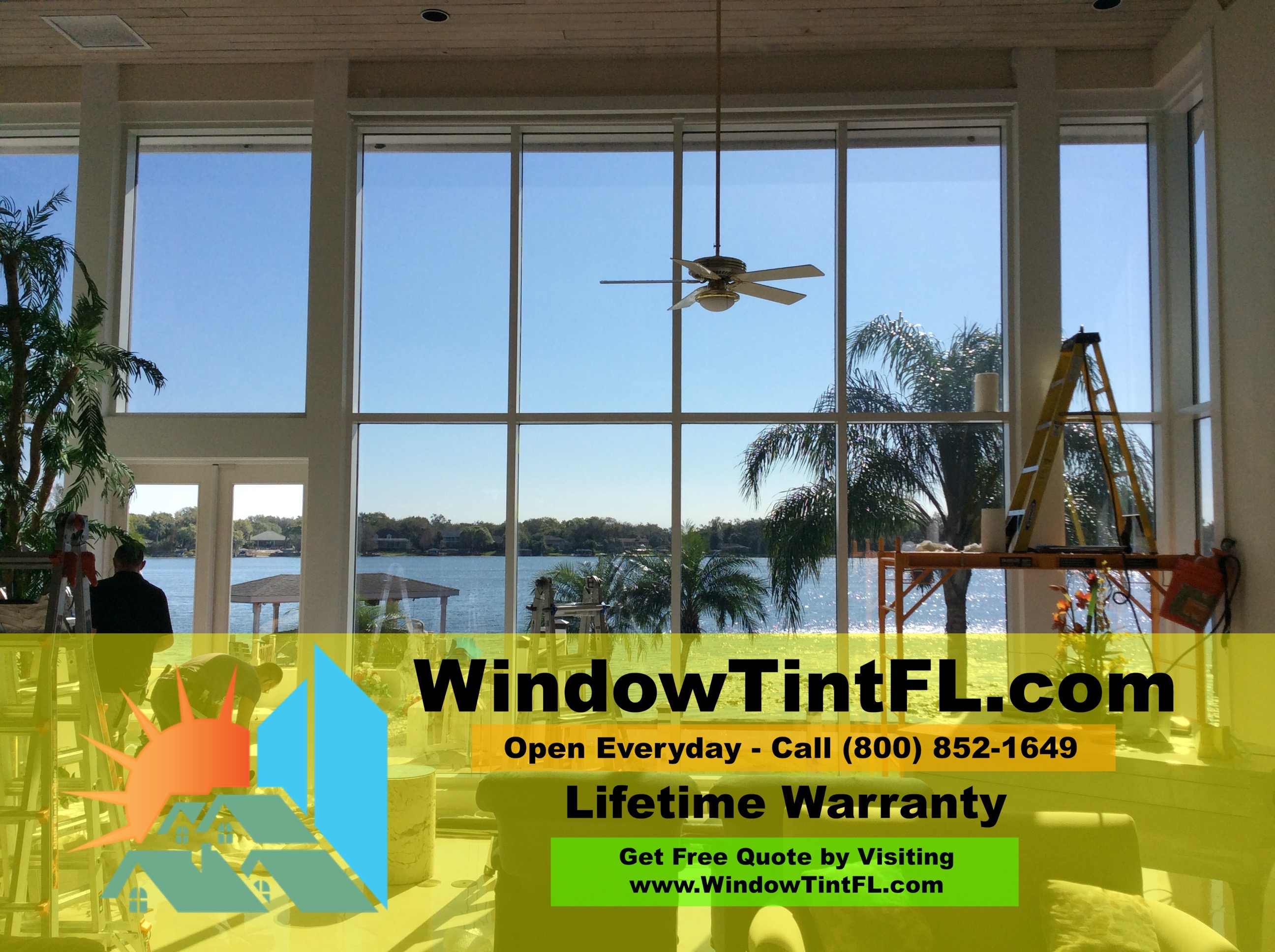 Heat Control Window Film Winter Springs Florida - Residential Tinting