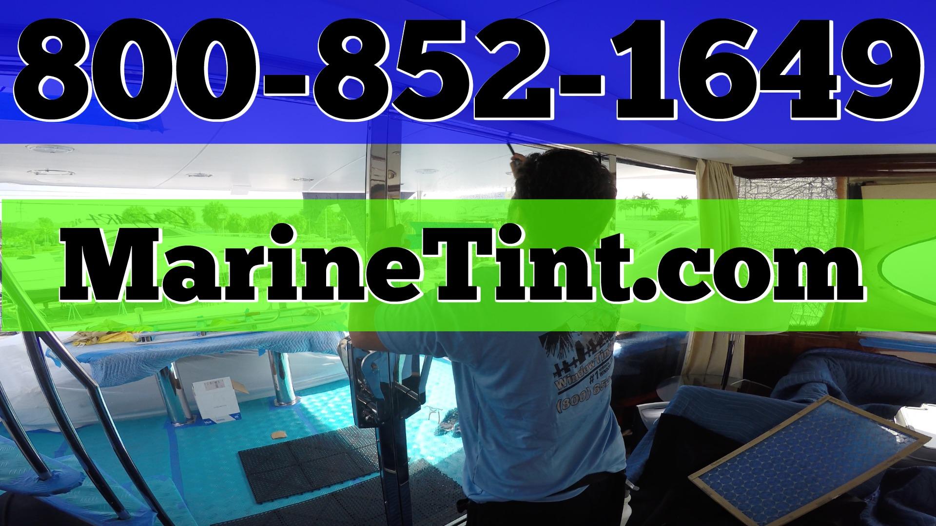 Marine Solar Window Tinting Fort Lauderdale Florida