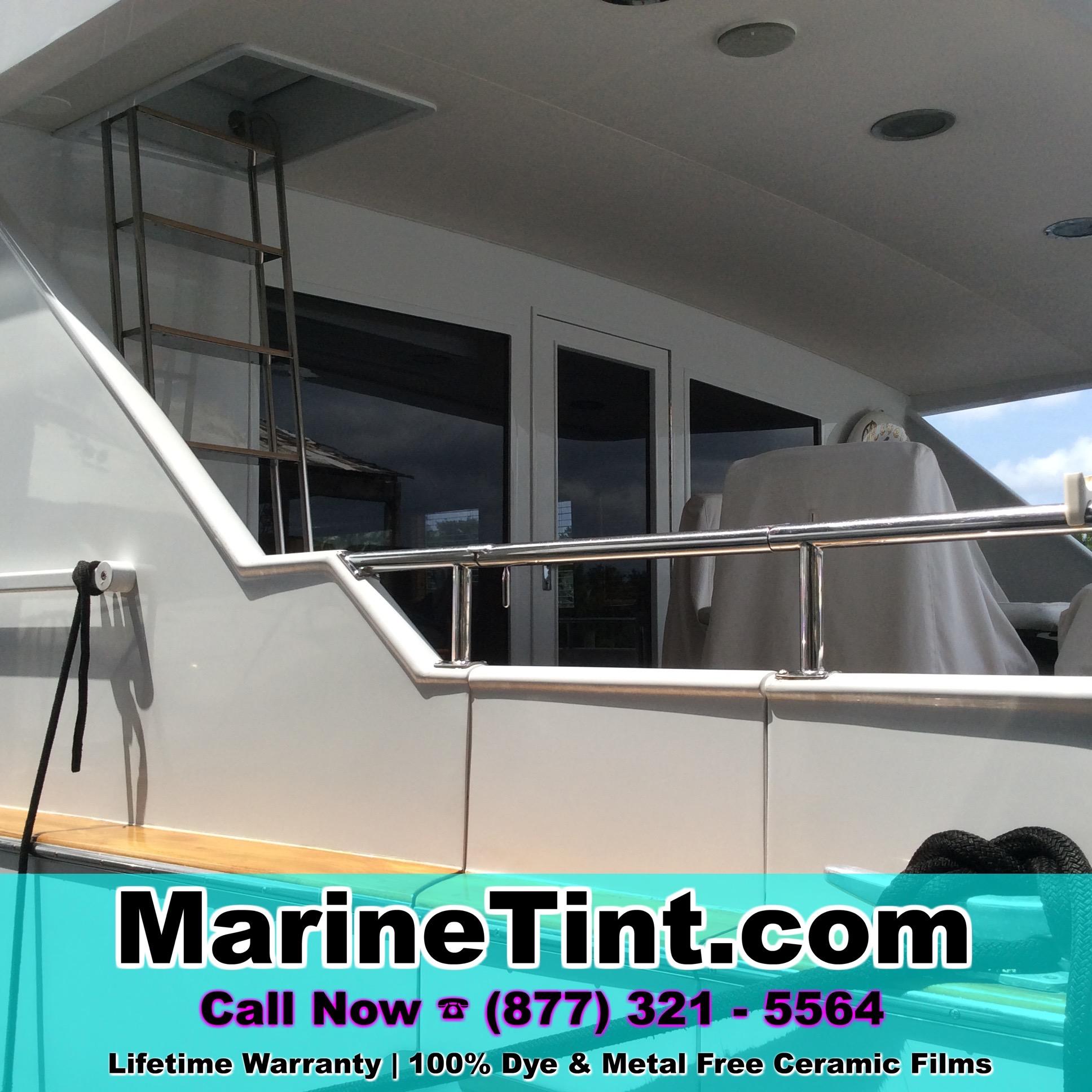 Naples Florida Boat Window Tinting Marine Tint