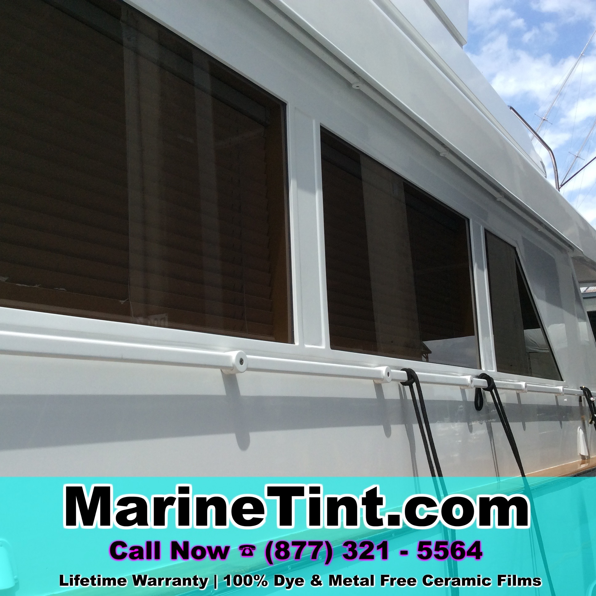 Naples Florida Boat Window Tinting Marine Tint