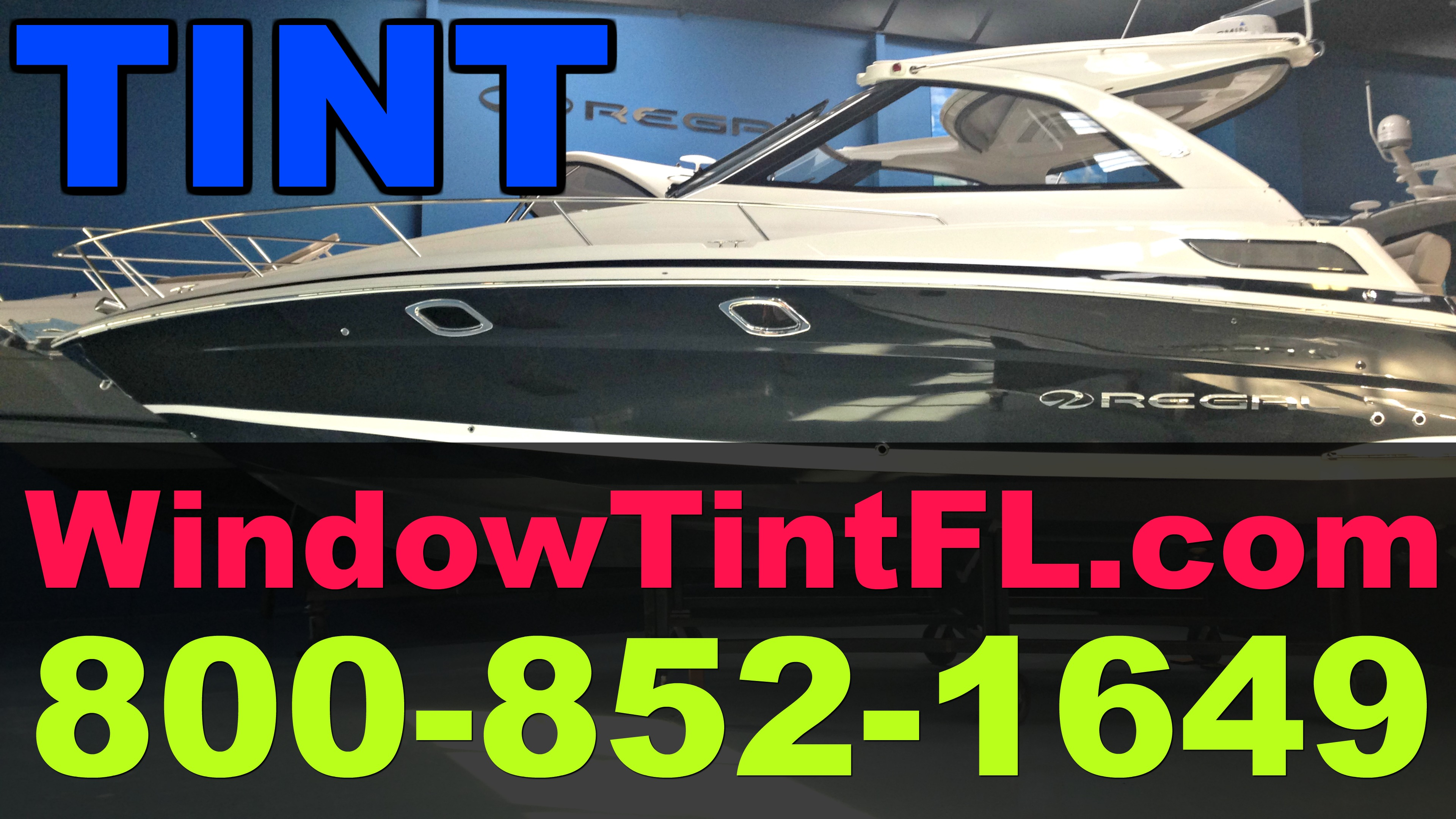 Best Boat Window Tint in Clearwater Florida