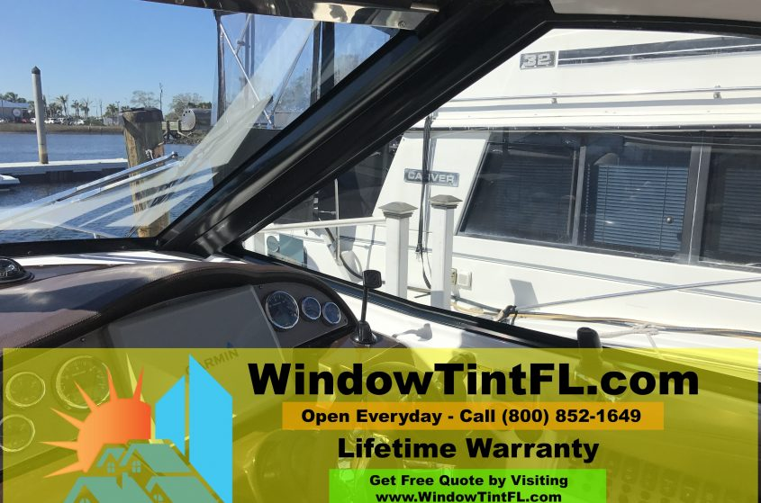 Boat Tinting - Clearwater, Florida