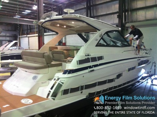 Marine Window Tinting - Ceramic Window Film for Boats