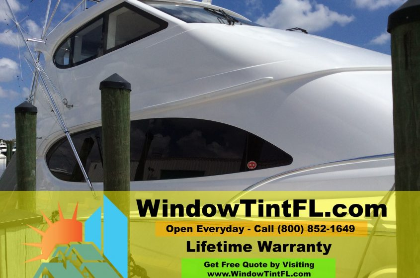 Marine Window Film in Fort Lauderdale