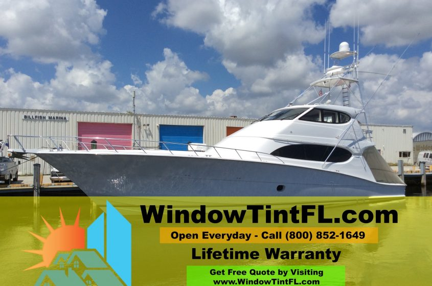 Boat Window Tinting - Ft Lauderdale, Florida