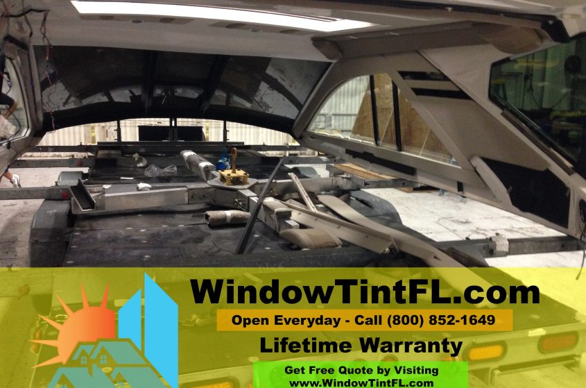 Boat Window Tint Miami Florida