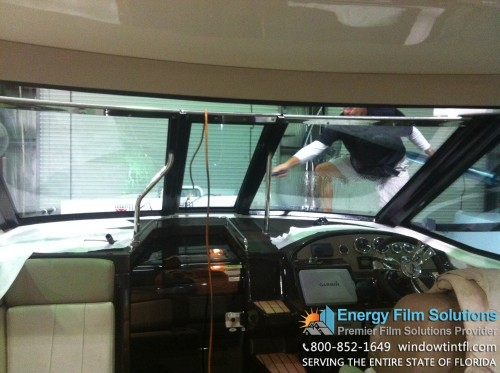 Boat Window Tinting South Florida