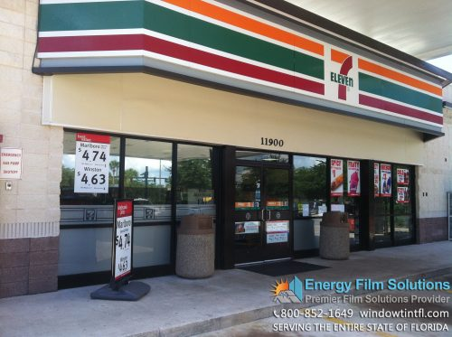 commercial window tinting 7-11