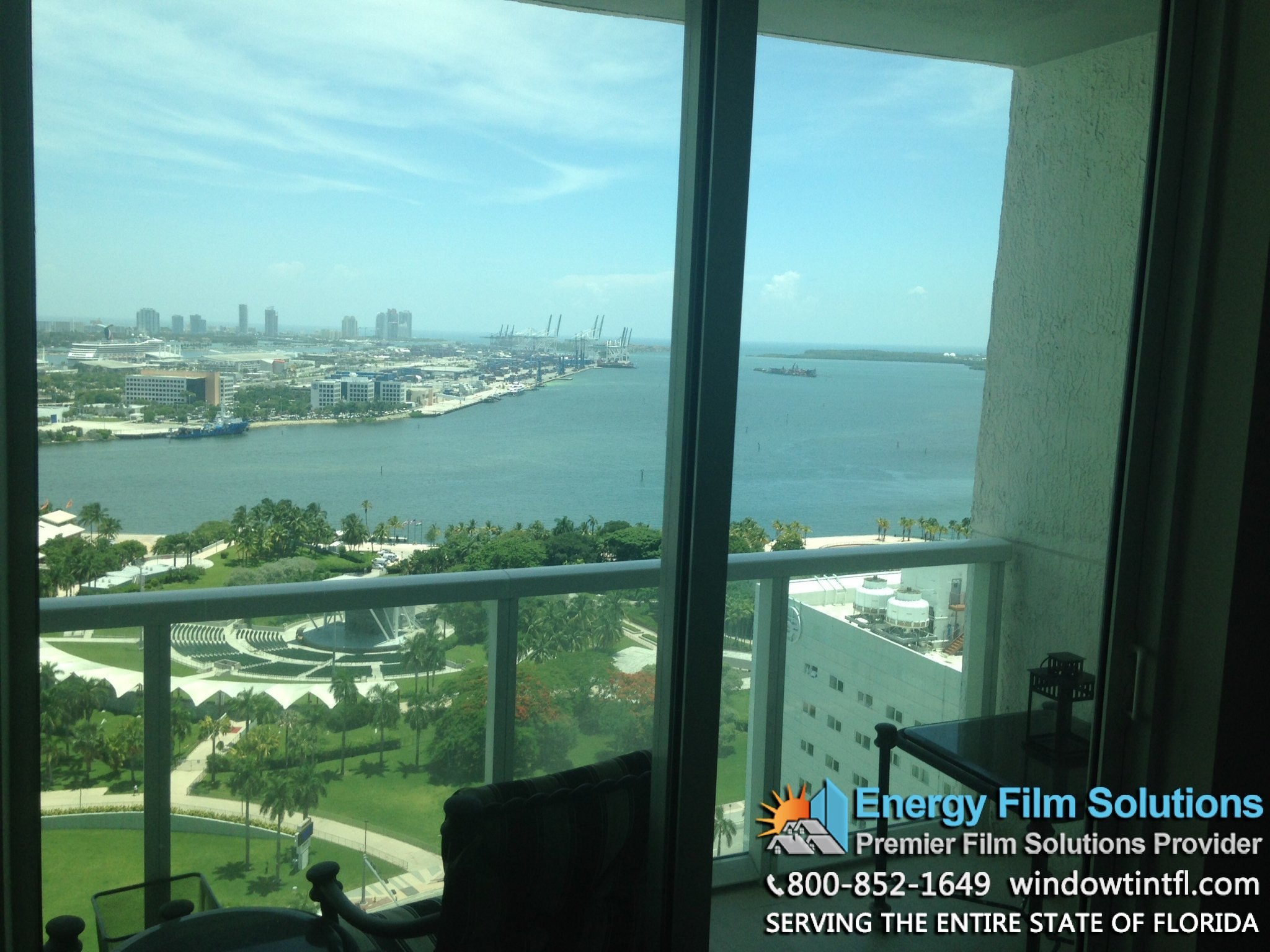 condo window tinting coconut grove Miami florida
