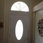 front door no window film