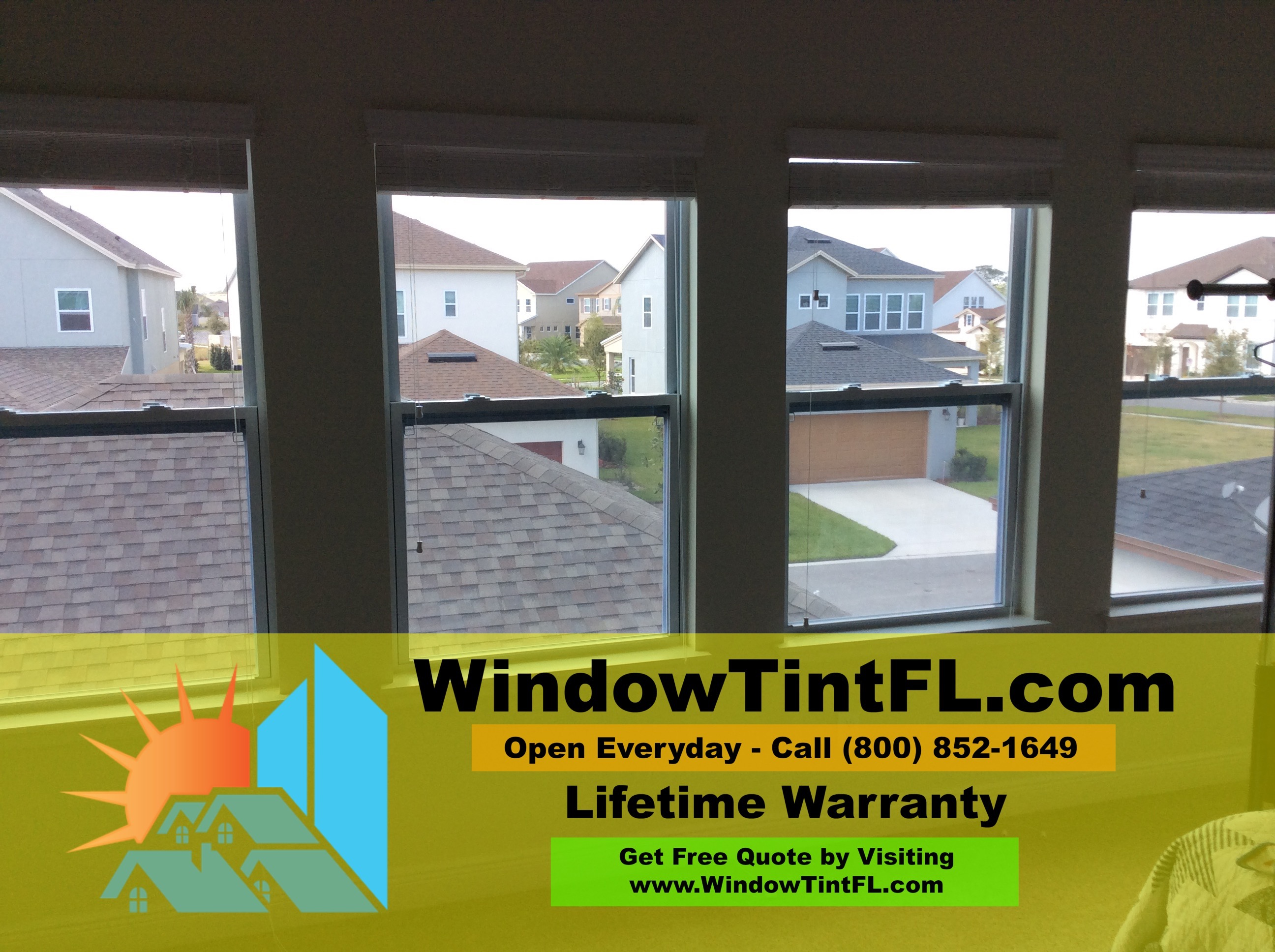 Apopka Florida Home Window Tinting