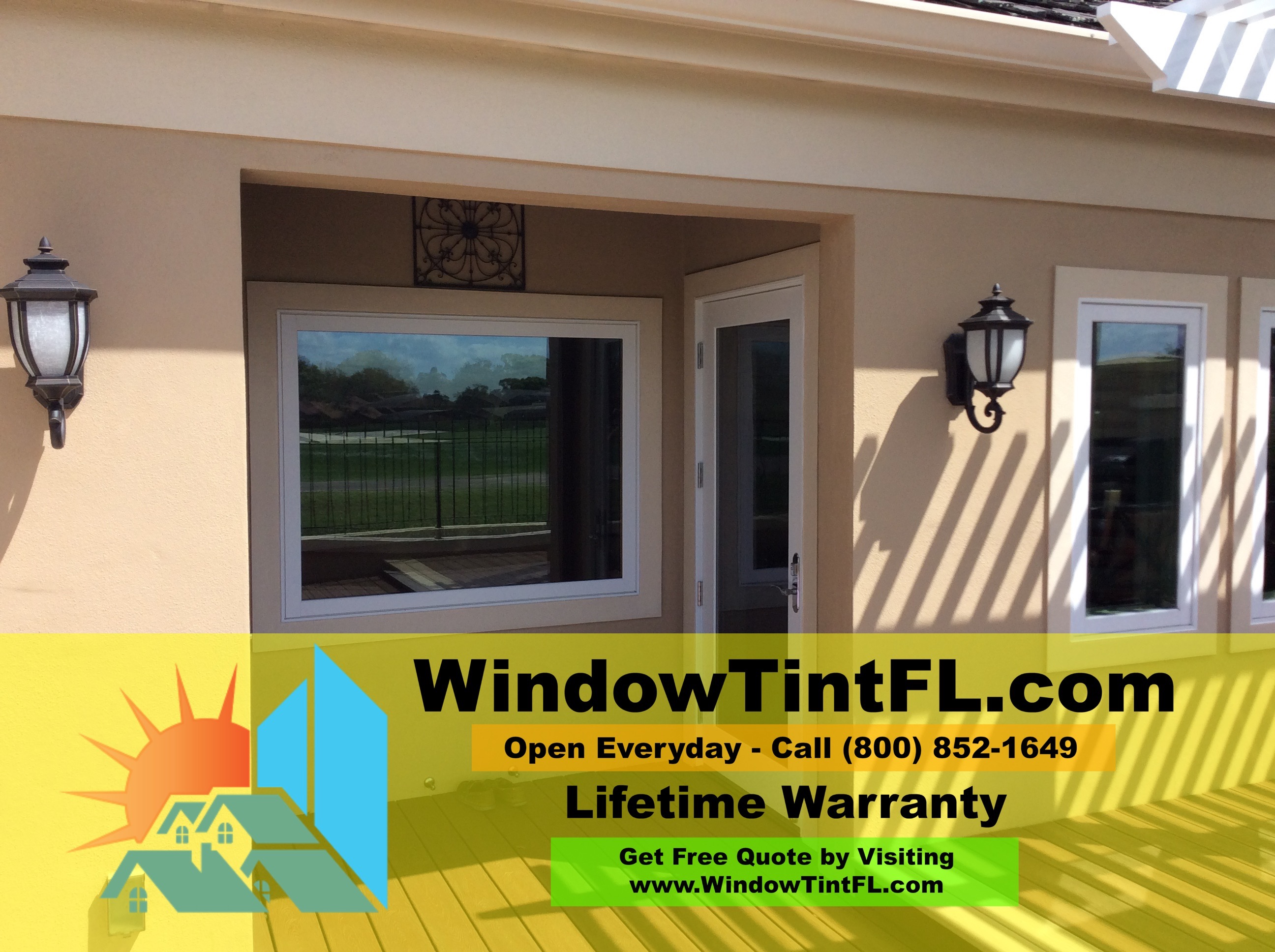 Home Window Tinting Maitland Florida Tint Specs and Pictures