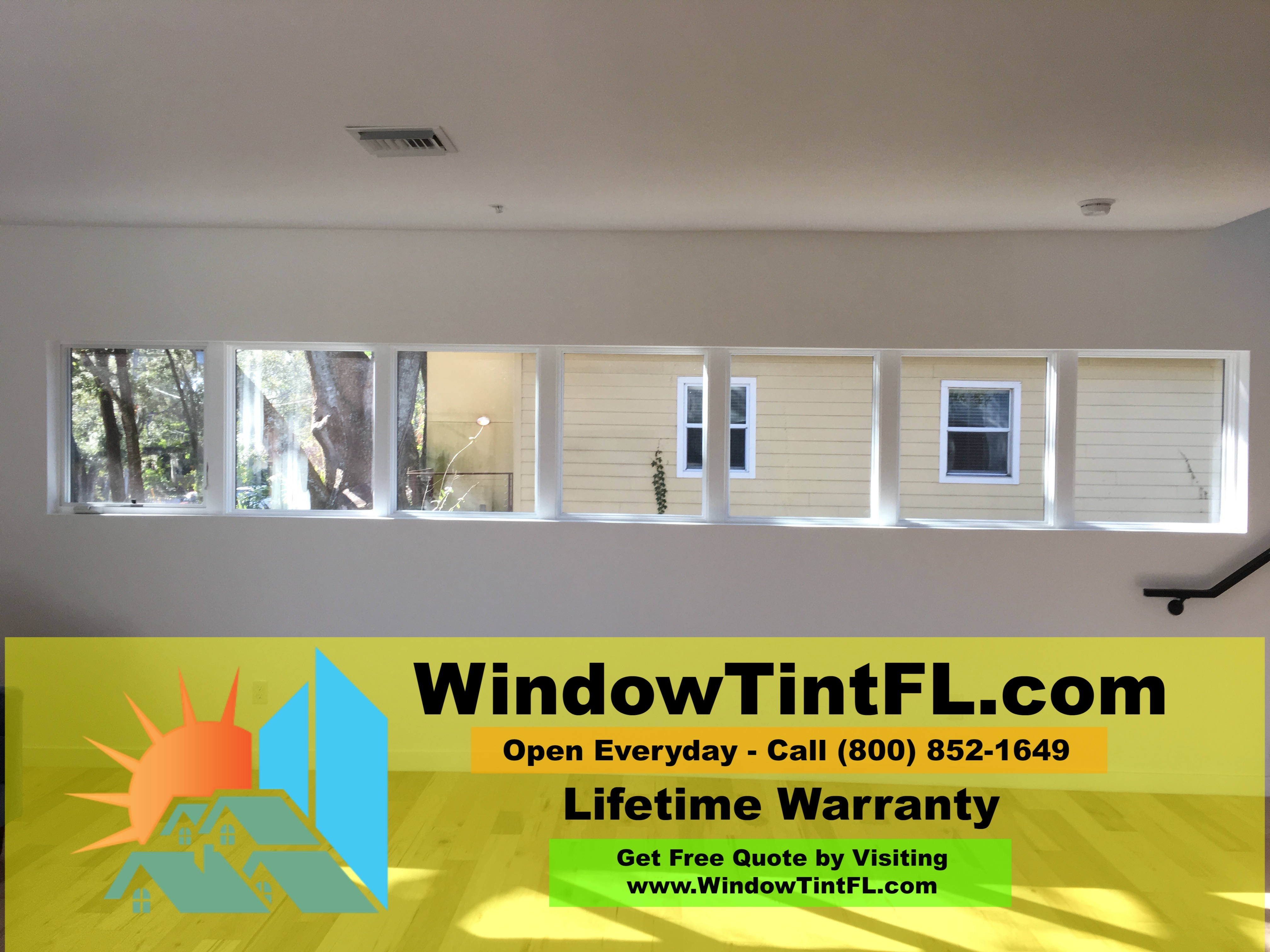 Home Window Tinting Maitland Florida Window Films - Huper Optik Ceramic - Reduce Glare and Heat with Solar Control Window Films