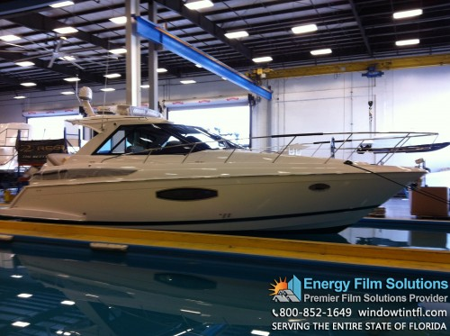 huper optik boat window tint installation