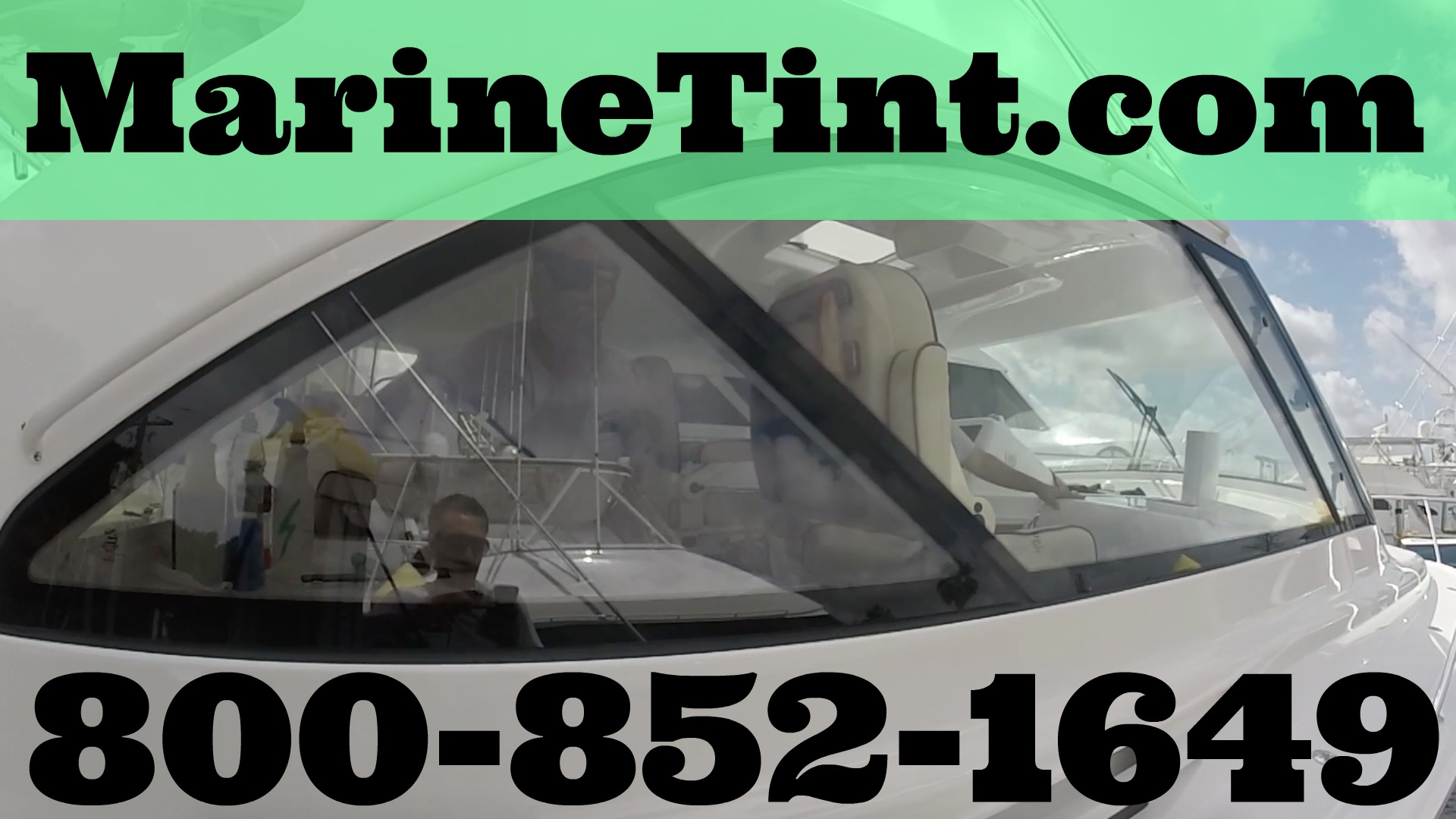 Sunblock Window Tint >> Boat Window Tinting St Petersburg, Clearwater, and Tampa ...