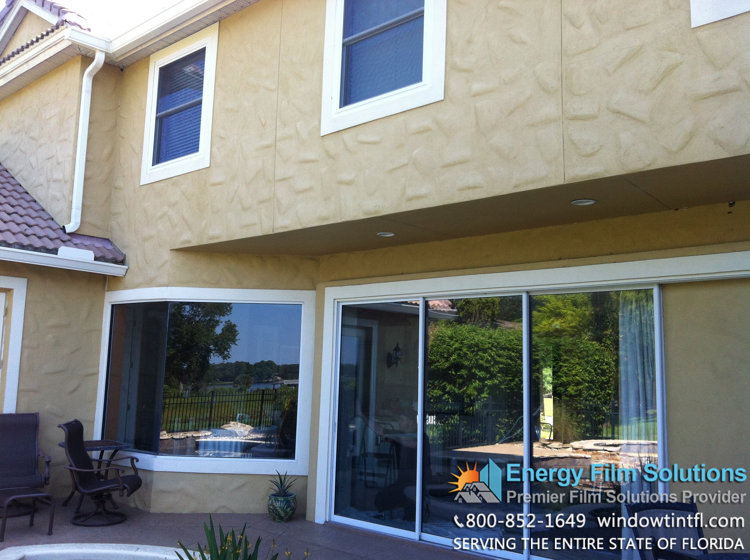 Residential window tinting benefits for homes florida for Windows for residential homes