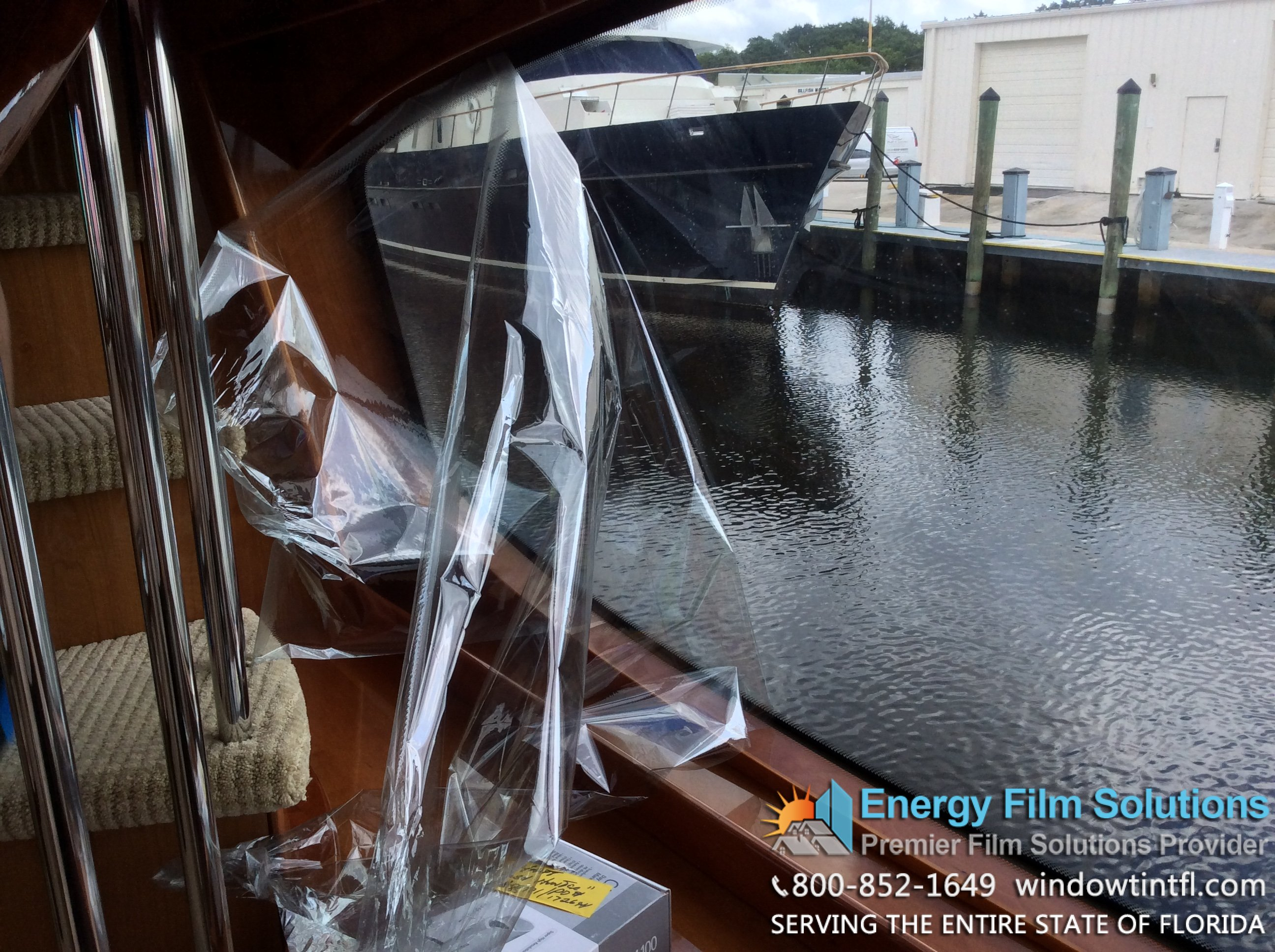 Vkool Marine Window Tint Yacht 962 Florida Window Tint Films