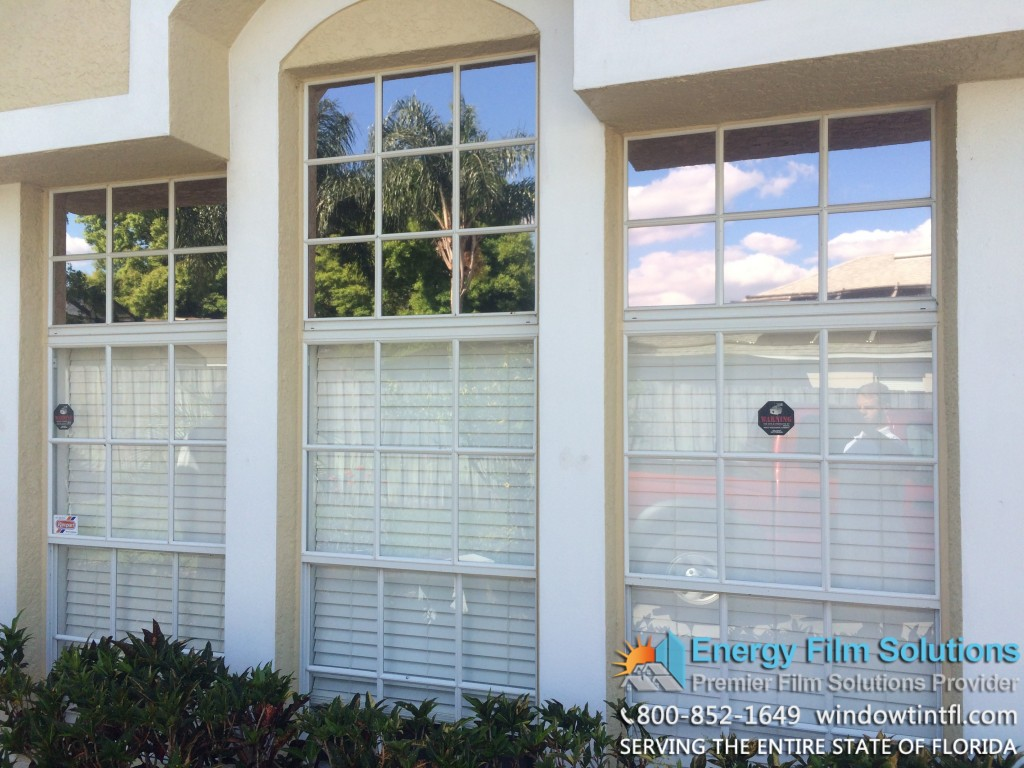 Home window tint in orlando with fusion 20 film florida for Window installation orlando